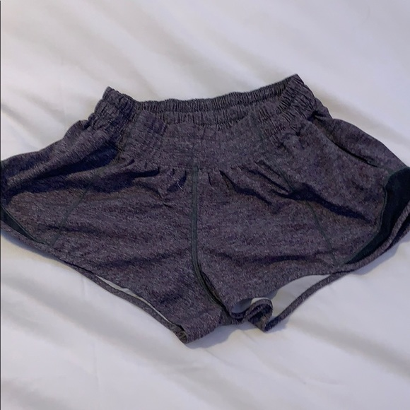 grey/gray hotty hot shorts